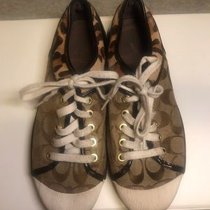 Coach sneakers 8,5